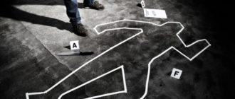 Место убийства