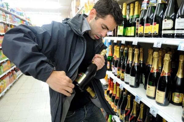 Хищение алкоголя